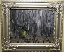 Art: Rain in Wonderland by Artist J A Blackwell