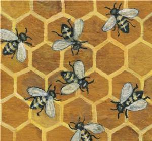 Detail Image for art Honey Bees
