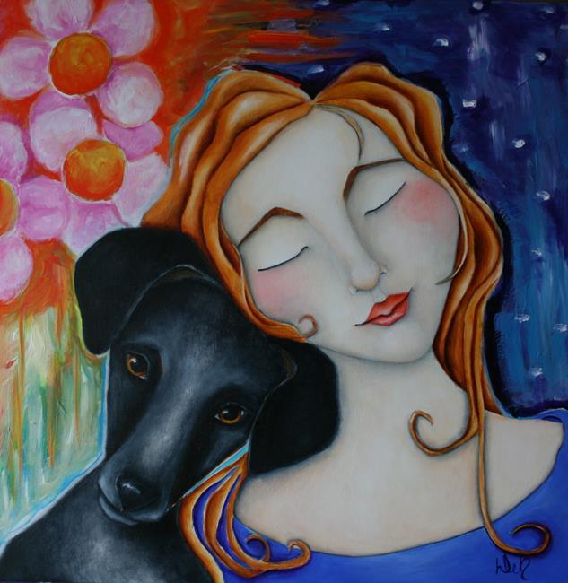 Art: Tranquility by Artist Deb Harvey