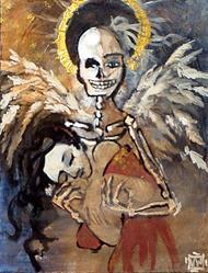 Art: Death's Embrace by Artist Natasha Wescoat