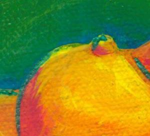 Detail Image for art Nude in Orange
