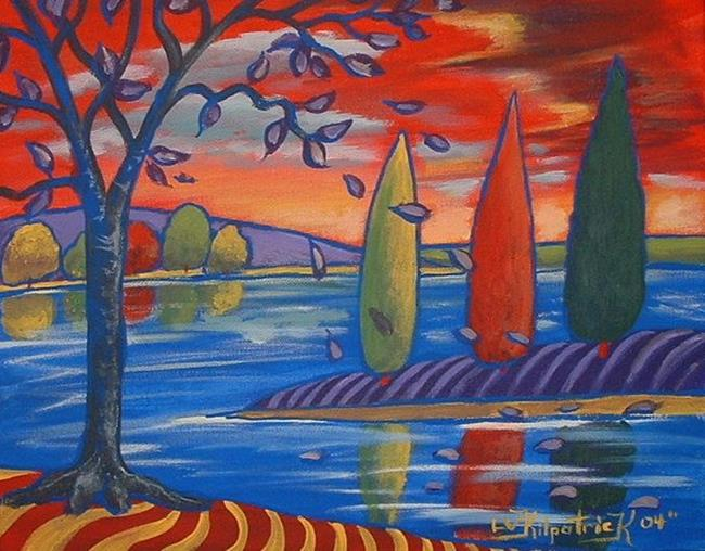 Art: Trees, Trees, Trees by Artist Virginia Kilpatrick