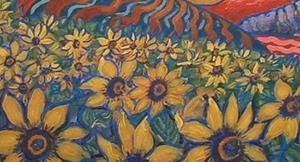 Detail Image for art Country Sunflowers
