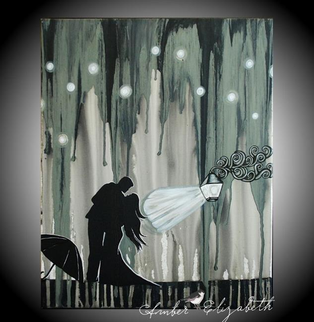 Art: We Could Have Danced All Night (sold) by Artist Amber Elizabeth Lamoreaux