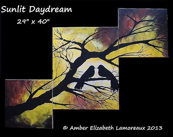 Art: Sunlit Daydream (sold) by Artist Amber Elizabeth Lamoreaux