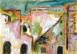 Art: Ribat in Monastir by Artist Gabriella Cleuren