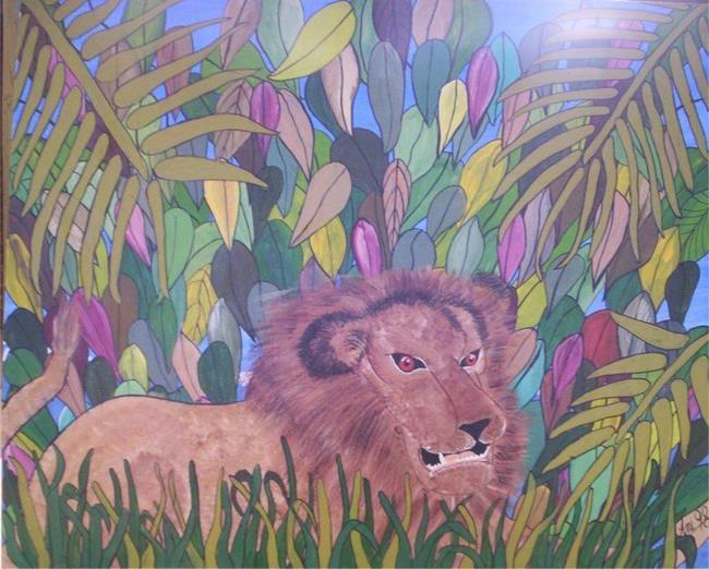Art: lion by Artist Gypsy {Ani } T.  Draven