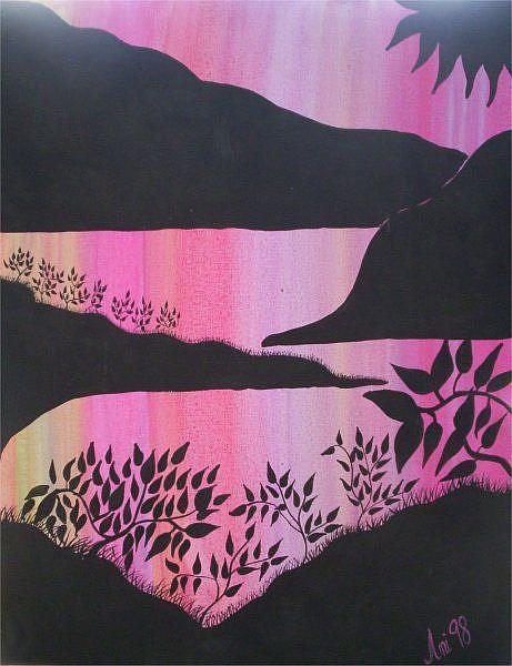 Art: sunset (sold ) by Artist Gypsy {Ani } T.  Draven