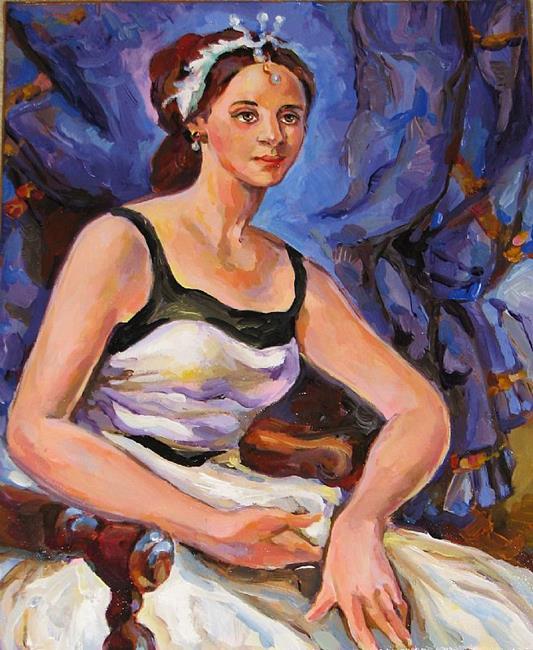 Art: Ballerina by Artist Luda Angel