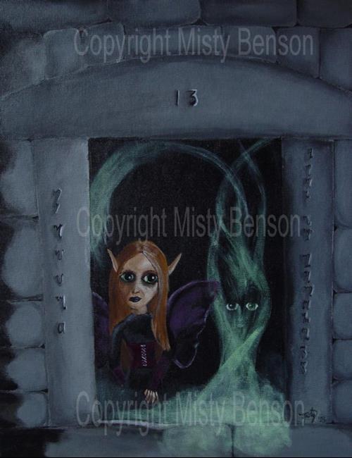 Art: Magick by Artist Misty Benson