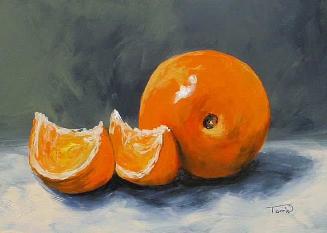Art: Fresh Orange III by Artist Torrie Smiley