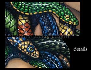Detail Image for art Portrait of Medusa