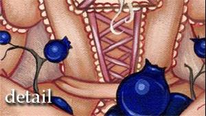 Detail Image for art Blueberries and Cream