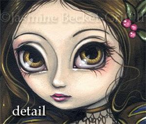 Detail Image for art Princess with a Pink Flower