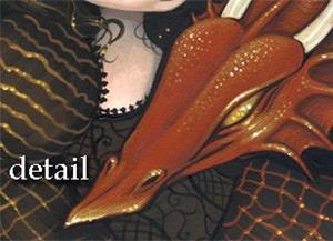 Detail Image for art Princess with a Bronze Dragon <b>on eBay now!</b>