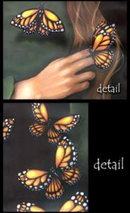 Detail Image for art Butterfly Maiden