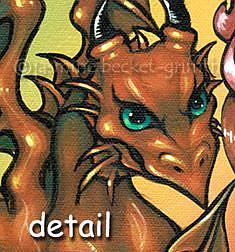 Detail Image for art Briseis and the Copper Dragon