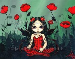 Art: Poppy Garden by Artist Jasmine Ann Becket-Griffith
