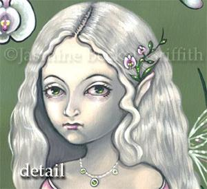 Detail Image for art Princess of Orchids
