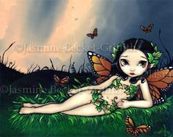 Art: Fairy Odalisque by Artist Jasmine Ann Becket-Griffith