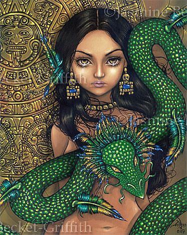 Priestess Of Quetzalcoatl By Jasmine Ann Becket Griffith