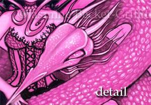 Detail Image for art Pink Dragon Fairy