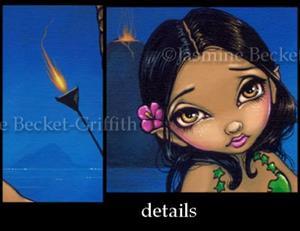 Detail Image for art Tiki Mermaid