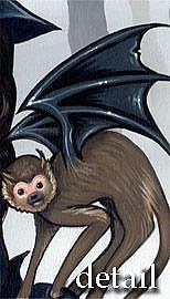 Detail Image for art Wicked Witch and her Flying Monkey