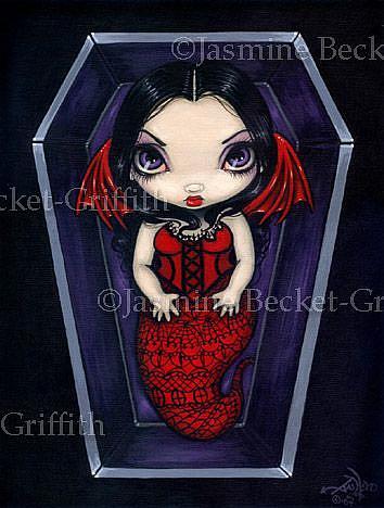Art: Deadling #1 by Artist Jasmine Ann Becket-Griffith