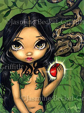 Eve and the Apple - by Jasmine Ann Becket-Griffith from ...