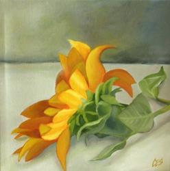 Art: Sunflower by Artist Christine E. S. Code ~CES~