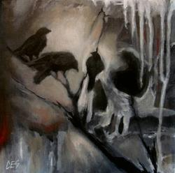 Art: Murder by Artist Christine E. S. Code ~CES~