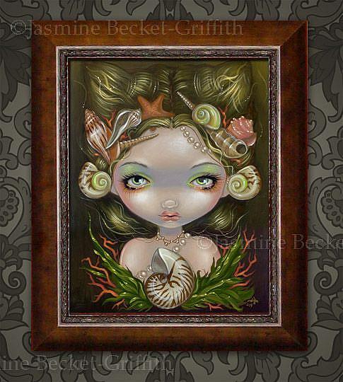 Art: Crown of Shells by Artist Jasmine Ann Becket-Griffith