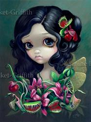 Art: Carnivorous Bouquet Fairy by Artist Jasmine Ann Becket-Griffith