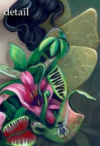 Detail Image for art Carnivorous Bouquet Fairy