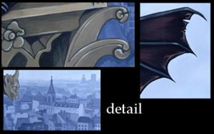 Detail Image for art The Secret of Notre Dame <b>for SALE in my eBay store!</b>