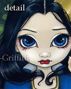 Detail Image for art Snow White and a Fawn