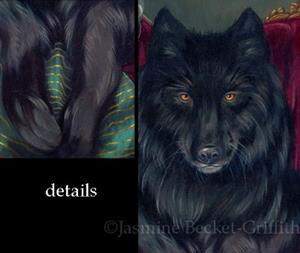 Detail Image for art Loup-Garou:  Noir