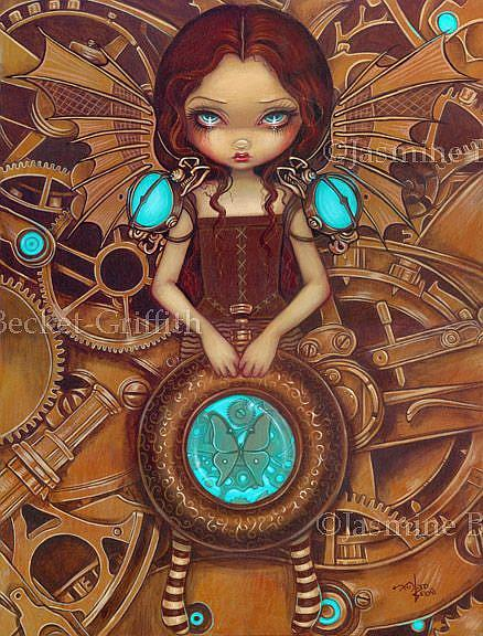 Mechanical Angel I - by Jasmine Ann Becket-Griffith from ...
