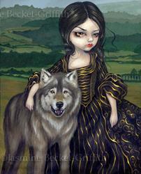 Art: Loup-Garou:  Pastorale by Artist Jasmine Ann Becket-Griffith