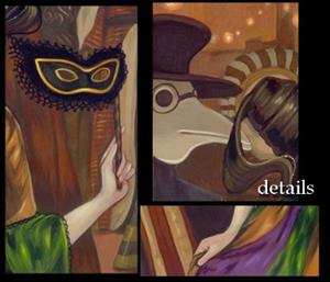 Detail Image for art At the Masquerade Ball