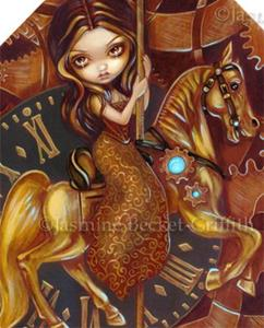 Detail Image for art Steampunk Carousel