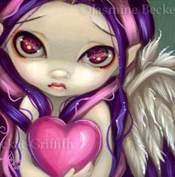 Art: Faces of Faery #70 by Artist Jasmine Ann Becket-Griffith
