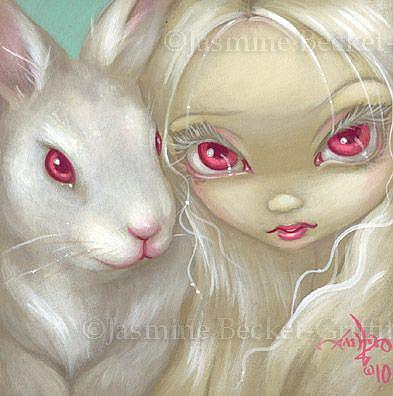 Art: Faces of Faery #100 by Artist Jasmine Ann Becket-Griffith