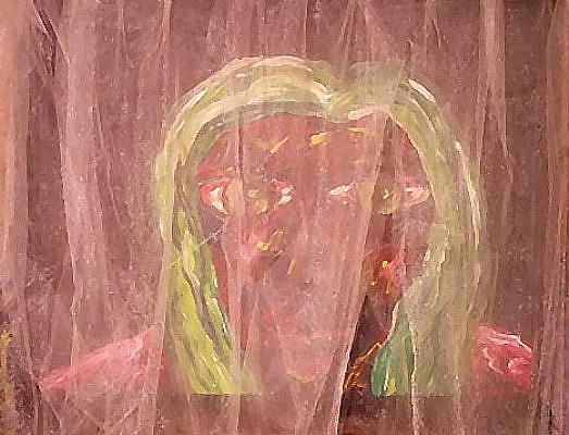 Art: The peeper by Artist Windi Rosson