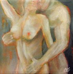 Art: Lovers by Artist Christine E. S. Code ~CES~