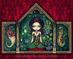 Art: Carnivorous Greenhouse by Artist Jasmine Ann Becket-Griffith