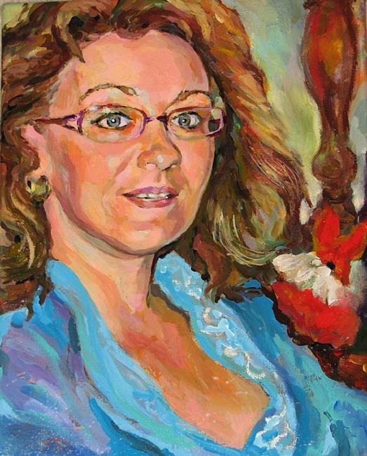 Art: Portrait by Artist Luda Angel