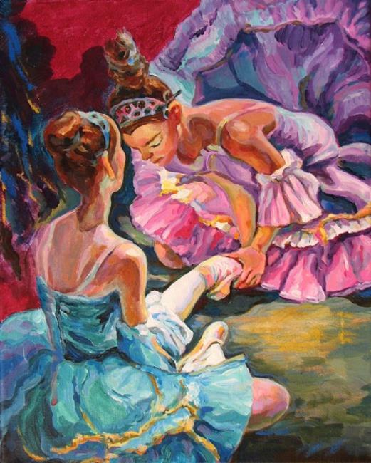 Art: Ballerina's hard work by Artist Luda Angel