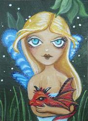 Art: Dragonling by Artist Charlene Murray Zatloukal